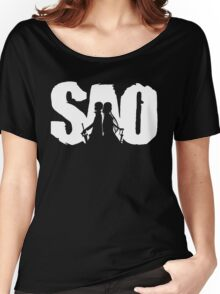 SAO Women's Relaxed Fit T-Shirt