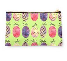 Pineapple Pattern Studio Pouch
