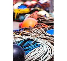 fishing  equipment Photographic Print