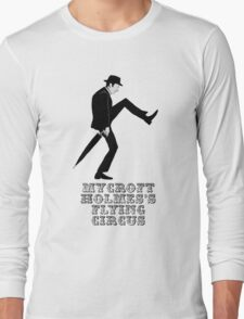 Mycroft Holmes Minister of Silly Walks Long Sleeve T-Shirt