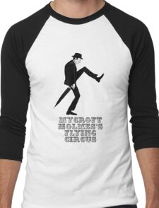 Mycroft Holmes Minister of Silly Walks Men's Baseball ¾ T-Shirt