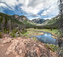 View from East Inlet Valley Trail Rocky Mountain National Park by PaulWilkinson
