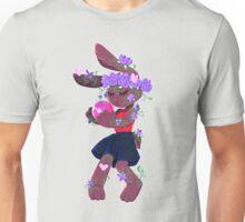 Flower Bunny Unisex T-Shirt