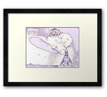 Hindenburg - Psychedelic Framed Print