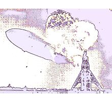 Hindenburg - Psychedelic Photographic Print