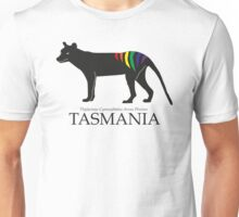Rainbow Thylacine, Tasmania (light colour version) Unisex T-Shirt