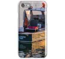 Lobster Boat Down East Maine iPhone Case/Skin