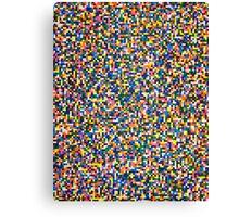 PIXEL PLAZZA Canvas Print