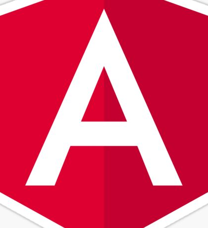 AngularJS logo Sticker
