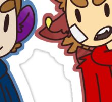 Monster Tom and Tord Sticker
