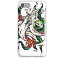 Rosey tentacles iPhone Case/Skin