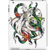 Rosey tentacles iPad Case/Skin