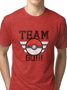 Team GO! Tri-blend T-Shirt