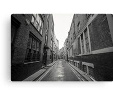 Narrow Streets Canvas Print