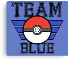Team BLUE! Canvas Print