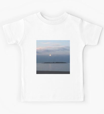 Sunset Over the Ocean Kids Tee