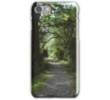 Path through the Woods iPhone Case/Skin