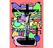 On the Cross; Jesus. Photographic Print