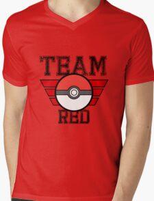 Team RED! Mens V-Neck T-Shirt