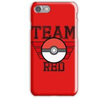 Team RED! iPhone Case/Skin