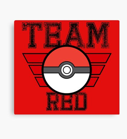 Team RED! Canvas Print