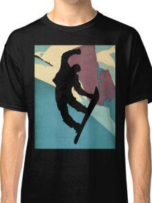 Snowboarding dude, morning light Classic T-Shirt