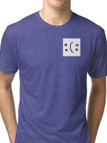 Happy//Sad? Tri-blend T-Shirt