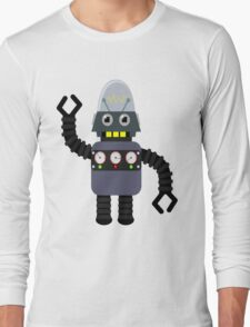 Funny robot Long Sleeve T-Shirt