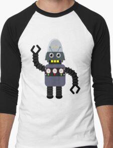 Funny robot Men's Baseball ¾ T-Shirt