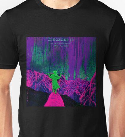 new dinosaur jr give a glimpse of what yer not album covers tour 2016 boncu Unisex T-Shirt