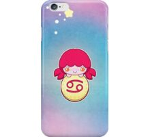 Kawaii Zodiac - Cancer iPhone Case/Skin