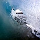 Looking Out a Flash Barrel by Vince Gaeta