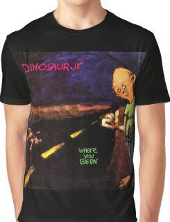 dinosaur jr where you been artwork boncu Graphic T-Shirt