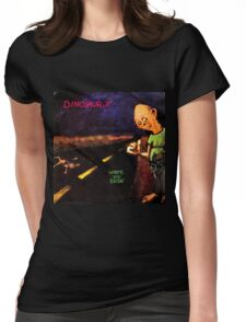 dinosaur jr where you been artwork boncu Womens Fitted T-Shirt