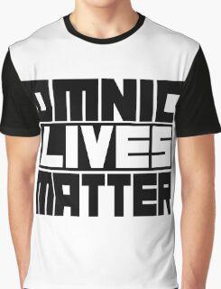 Omnic Lives Matter Graphic T-Shirt