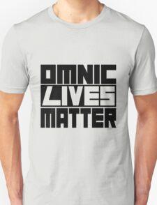 Omnic Lives Matter Unisex T-Shirt