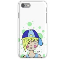 Blonde Haired Boy iPhone Case/Skin
