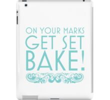 BAKE! iPad Case/Skin