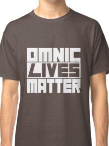 Omnic Lives Matter White Classic T-Shirt