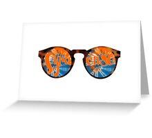 Syracuse Sunglasses  Greeting Card
