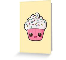 Happy Cupcake Greeting Card