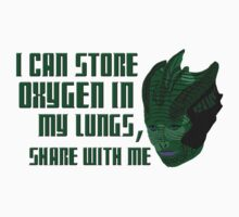 I can store oxygen in my lungs, share with me by cophine324b21