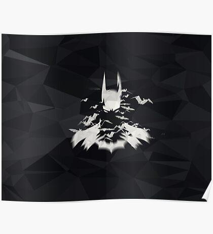 Superhero Art Work Bat Poster