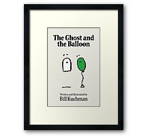 The Ghost and the Balloon Cover Framed Print