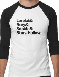 Gilmore Girls - Lorelai & Rory & Sookie & Stars Hollow | White Men's Baseball ¾ T-Shirt