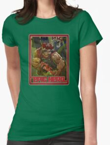 IN THE SEWERS Womens Fitted T-Shirt