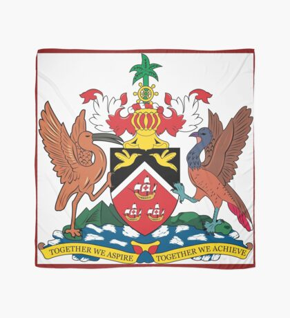 The Coat of Arms of Trinidad and Tobago  If you like, please purchase an item, thanks Scarf
