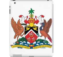 The Coat of Arms of Trinidad and Tobago iPad Case/Skin
