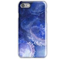Watercolor Moon Jellyfish at the Seattle Aquarium iPhone Case/Skin
