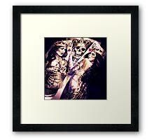 King & Women Framed Print
